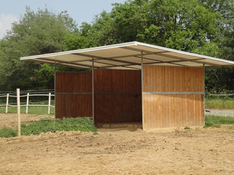 capannine da paddock con copertura in PVC